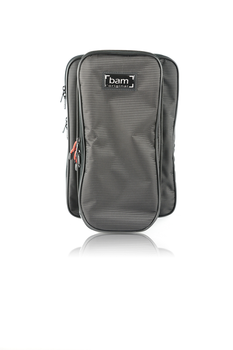 BAM Gig Bag Klarinet Bb Traveler Hightech Metallic Grey & Reflecting Black 3027TH