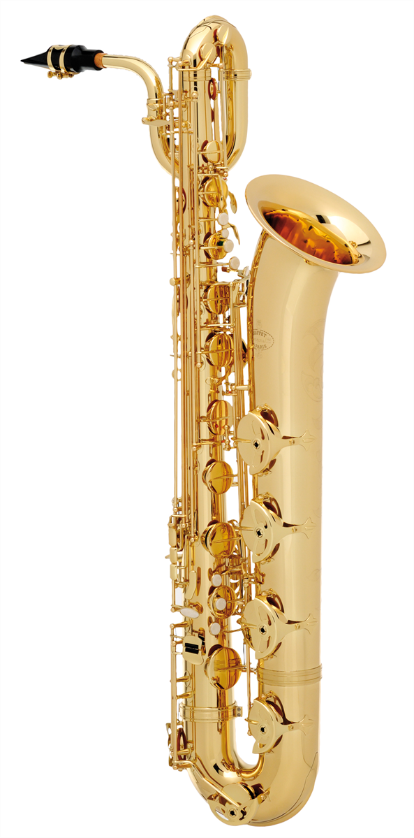Buffet Crampon Bariton Saxofoon 400 Serie Advanced - Uitvoering: Goudlak