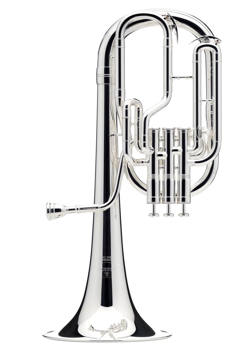 Besson Tenor Horn SOVEREIGN - Uitvoering: Verzilverd