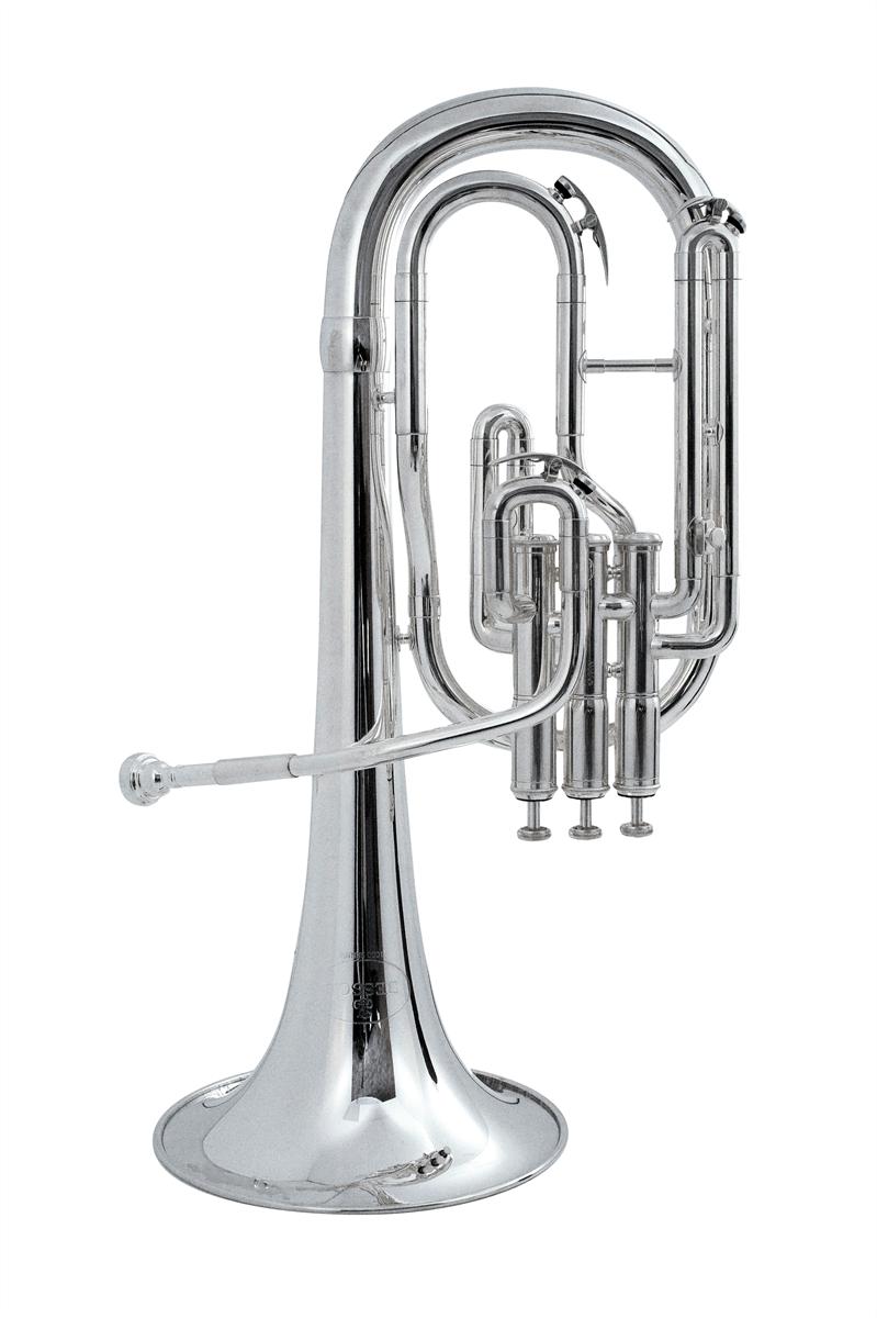 Besson Tenor Horn New Standard Student - Uitvoering: Verzilverd