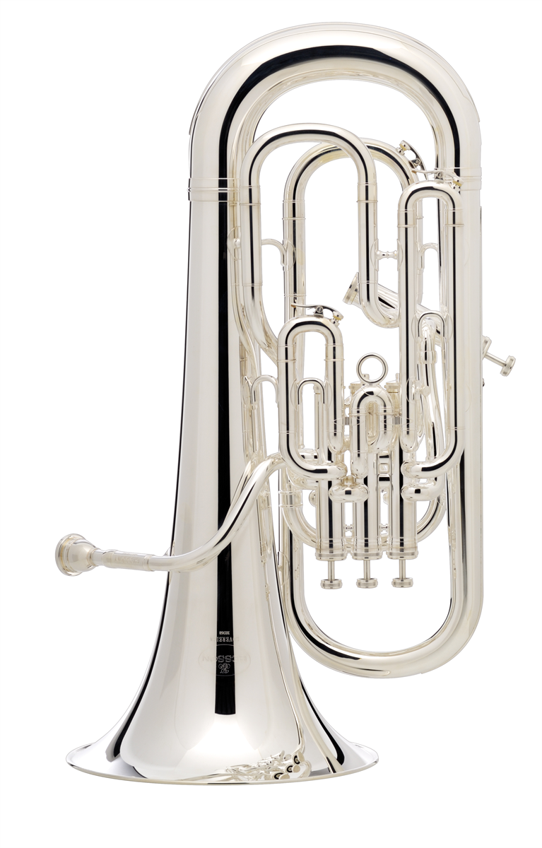 Besson Euphonium SOVEREIGN - Uitvoering: Verzilverd