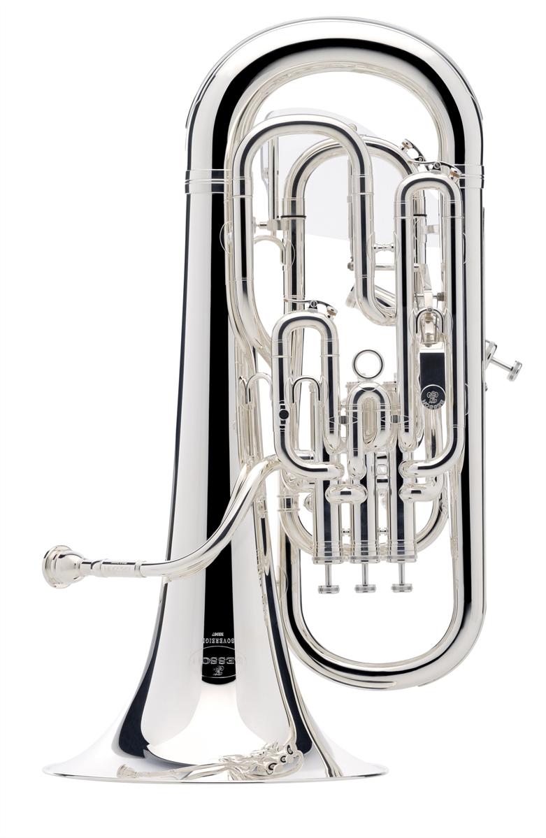 Besson Euphonium SOVEREIGN met Trigger - Uitvoering: Verzilverd