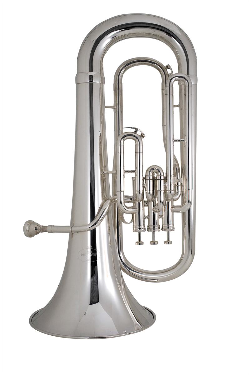 Besson Euphonium New Standard Stubent 3 Ventielen - Uitvoering: Verzilverd