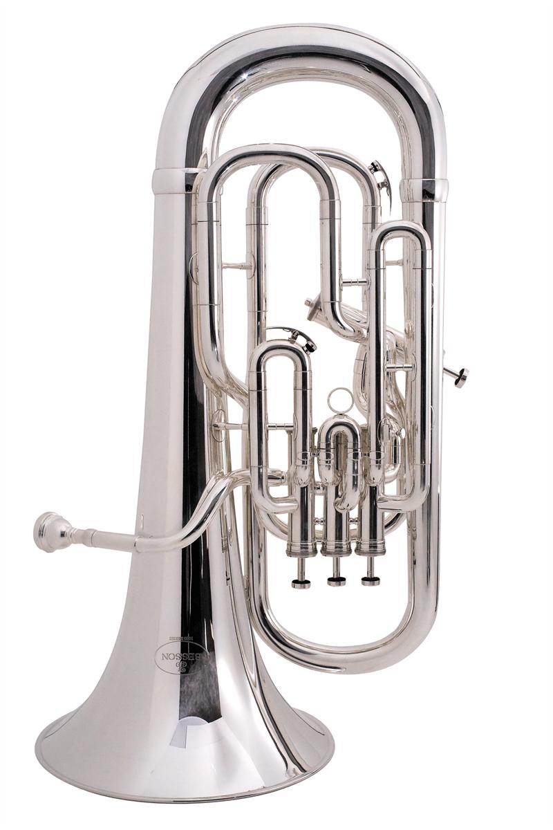 Besson Euphonium New Standard Stubent 4 Ventielen - Uitvoering: Verzilverd