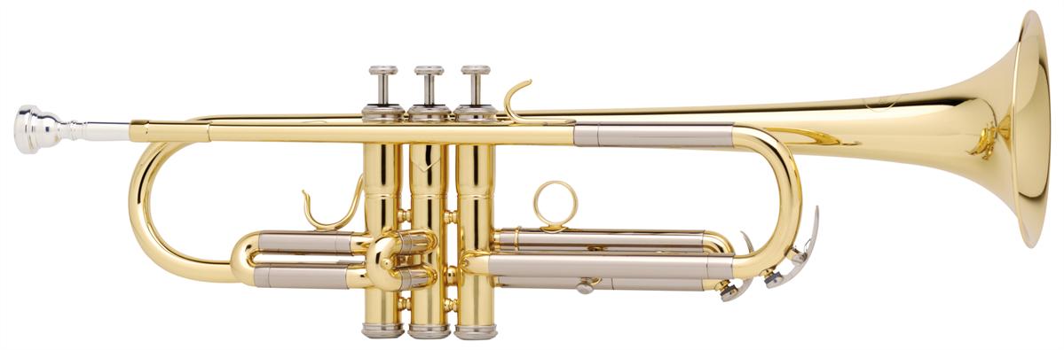 Besson Bb Trompet New Standard Student - Uitvoering: Goudlak