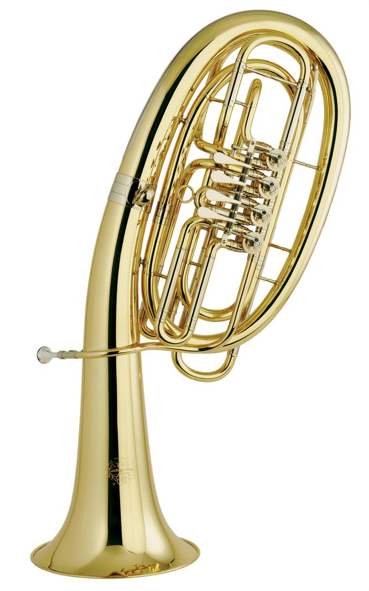 Hans Hoyer Wagner Tuba in F 824-L - Uitvoering: Goudlak