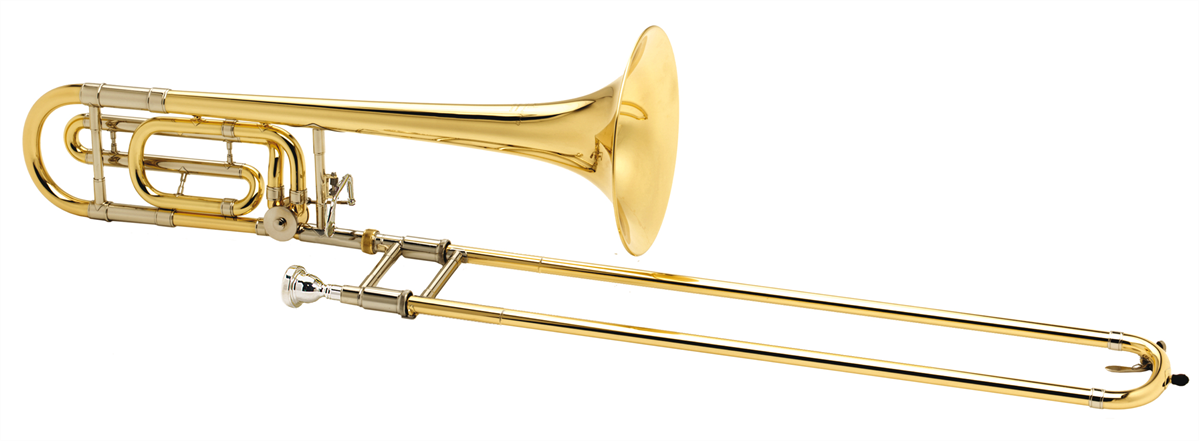 Courtois Tenor Trombone LEGEND 420MBR - Uitvoering: Goudlak