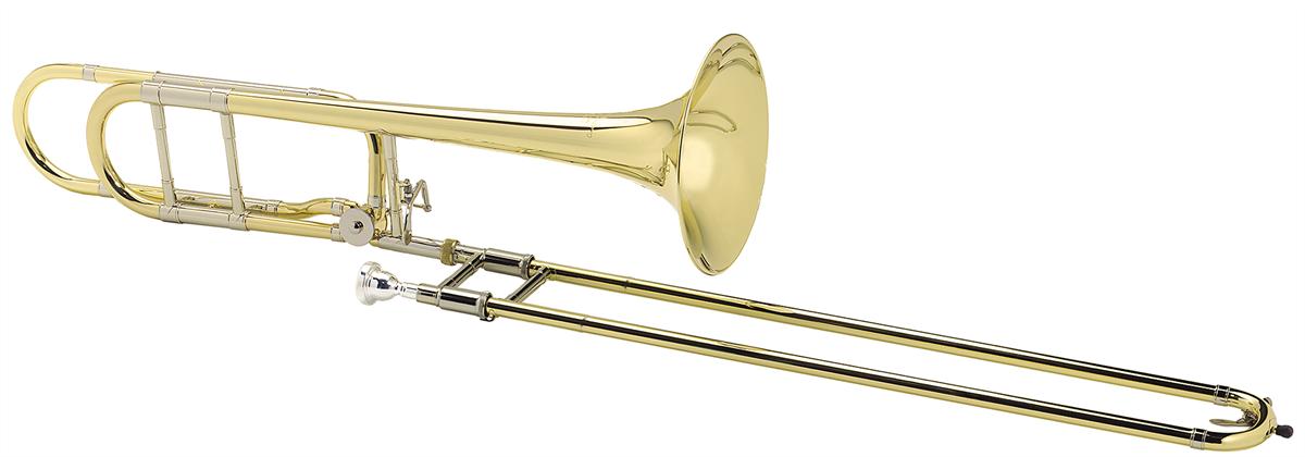 Courtois Tenor Trombone LEGEND 420BOR - Uitvoering: Goudlak