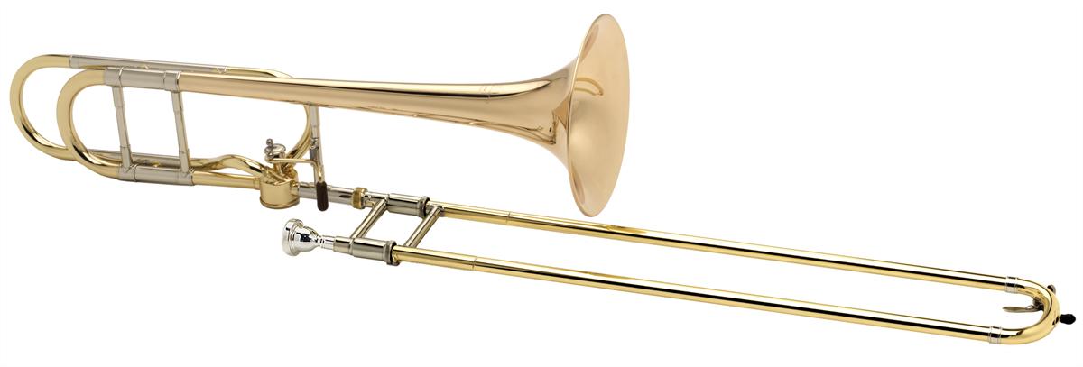 Courtois Tenor Trombone LEGEND 420BH - Uitvoering: Goudlak
