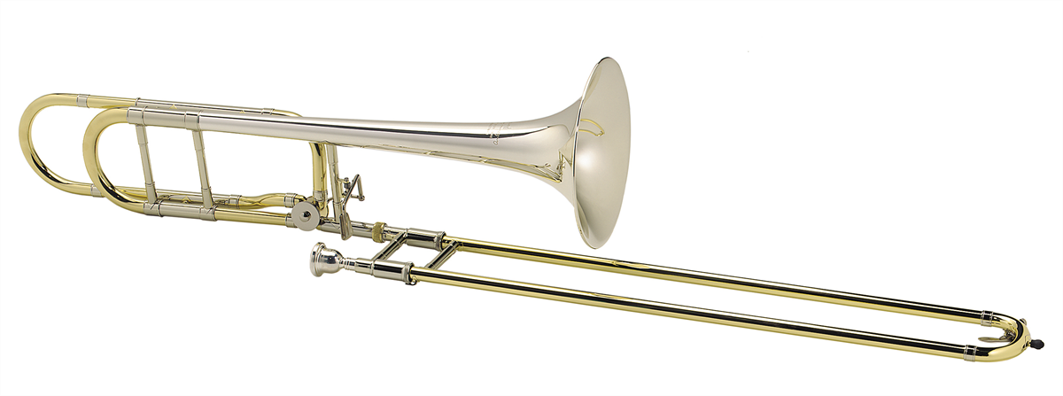 Courtois Tenor Trombone LEGEND 420MBHST - Uitvoering: Goudlak