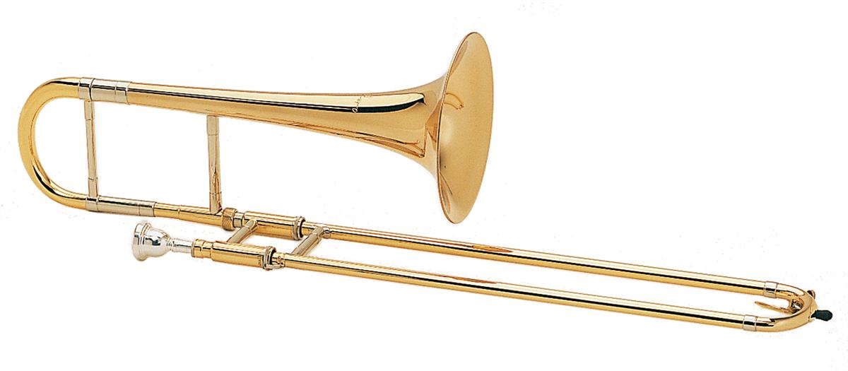 Courtois Alt Trombone PRESTIGE - Uitvoering: Goudlak