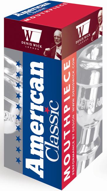 Denis Wick Mondstuk Trompet  American Classic 3C, Silver