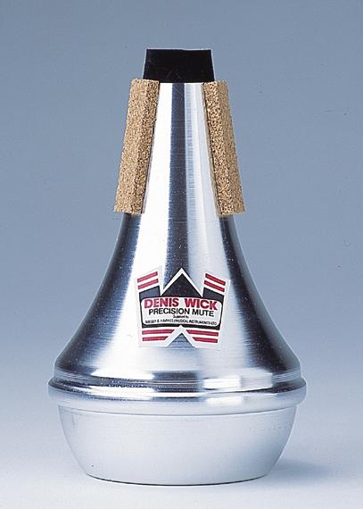 Denis Wick Straight Mute Cornet/Trompet  Aluminium