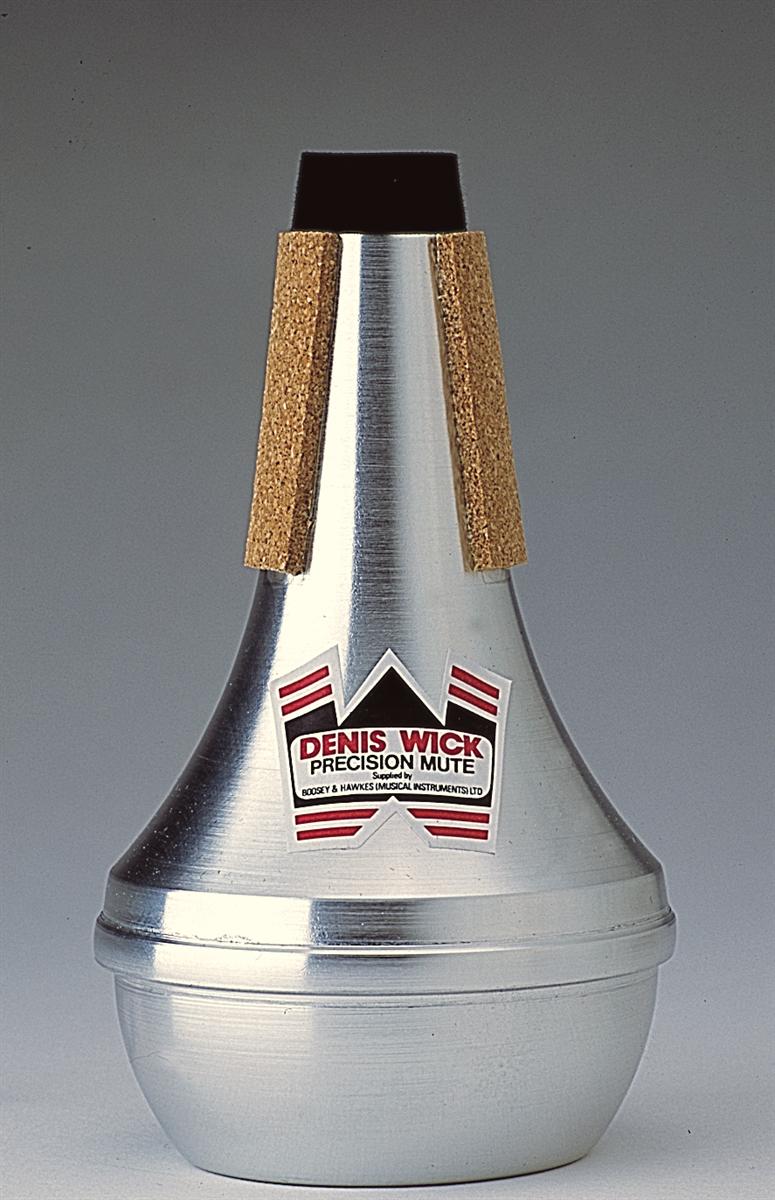 Denis Wick Straight Mute Soprano Cornet  Aluminium