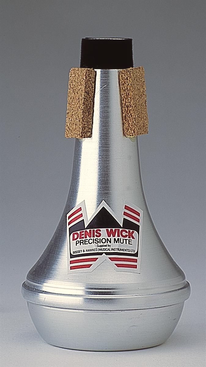 Denis Wick Straight Mute Piccolo Trompet  Aluminium