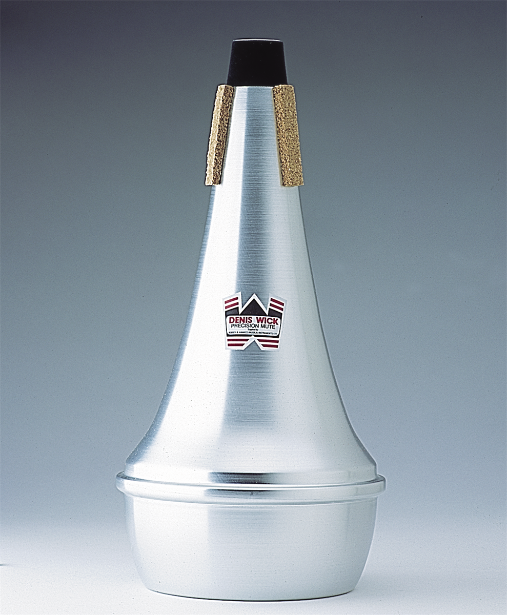 Denis Wick Straight Mute Trombone  Aluminium