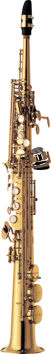 Yanagisawa Sopraan Saxofoon S-WO1 Professional - Uitvoering: Goudlak