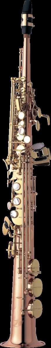 Yanagisawa Sopraan Saxofoon S-WO2 Professional -  Brons Gelakt