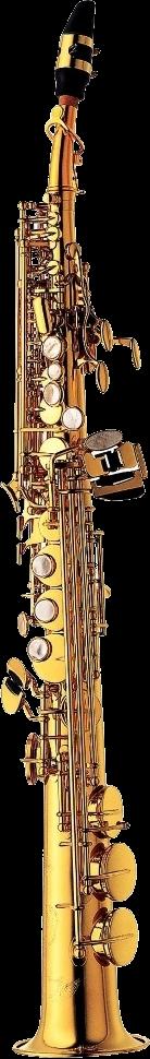 Yanagisawa Sopraan Saxofoon S981 Elimona - Uitvoering: Goudlak