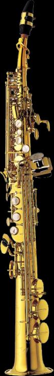 Yanagisawa Sopraan Saxofoon S991 Elimona - Uitvoering: Goudlak