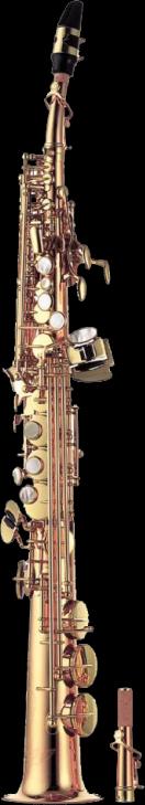 Yanagisawa Sopraan Saxofoon S-WO20 Elite - Uitvoering: Brons Gelakt