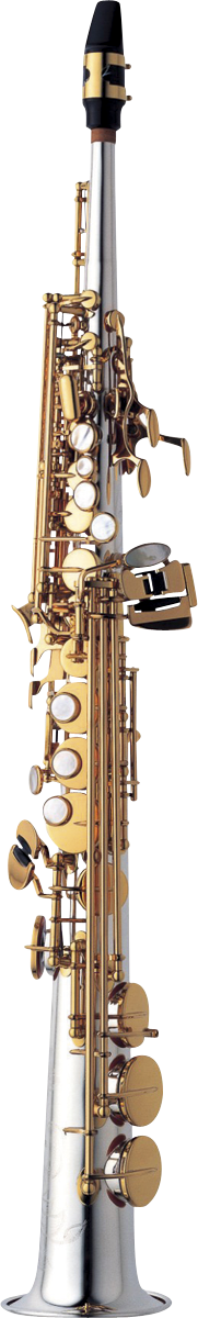 Yanagisawa Sopraan Saxofoon S-WO30 Elite - Uitvoering: Silver Sonic