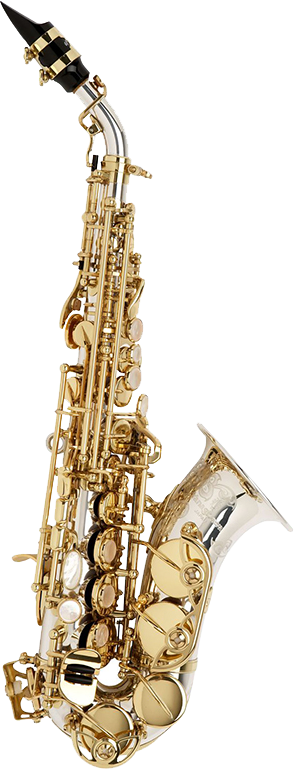 Yanagisawa Sopraan Saxofoon SC9937 Elimona - Uitvoering: Silver Sonic