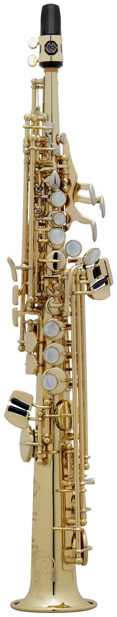 Selmer Sopranino Saxofoon SA80 Série II - Uitvoering: Goudlak