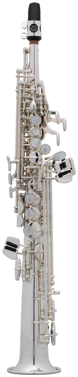 Selmer Sopranino Saxofoon SA80 Série II - Uitvoering: Verzilverd