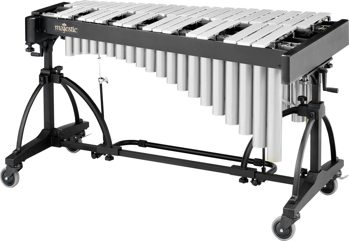Majestic Vibraphone V7530S Silver Bars