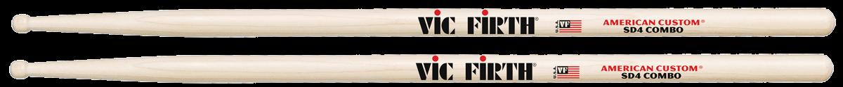 Vic Firth Drumstokken American Custom MapleHouten Tip Combo