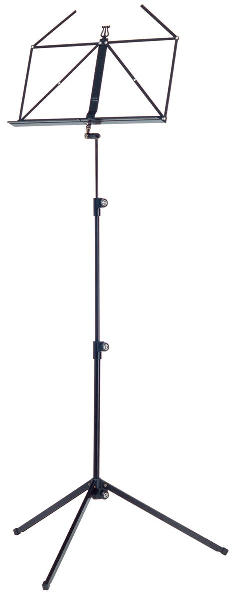 K&M 10010-000-55 Vouwbaar Blad Deluxe 3-del. opvouwbaar Zwart