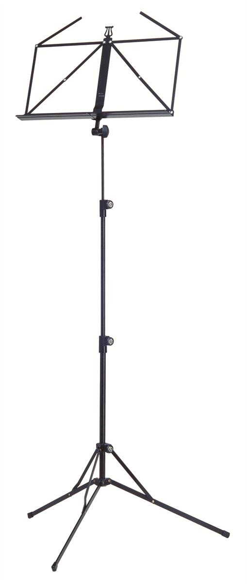 K&M 10050-000-55 Vouwbaar Blad 3-delig opvouwbaar Zwart