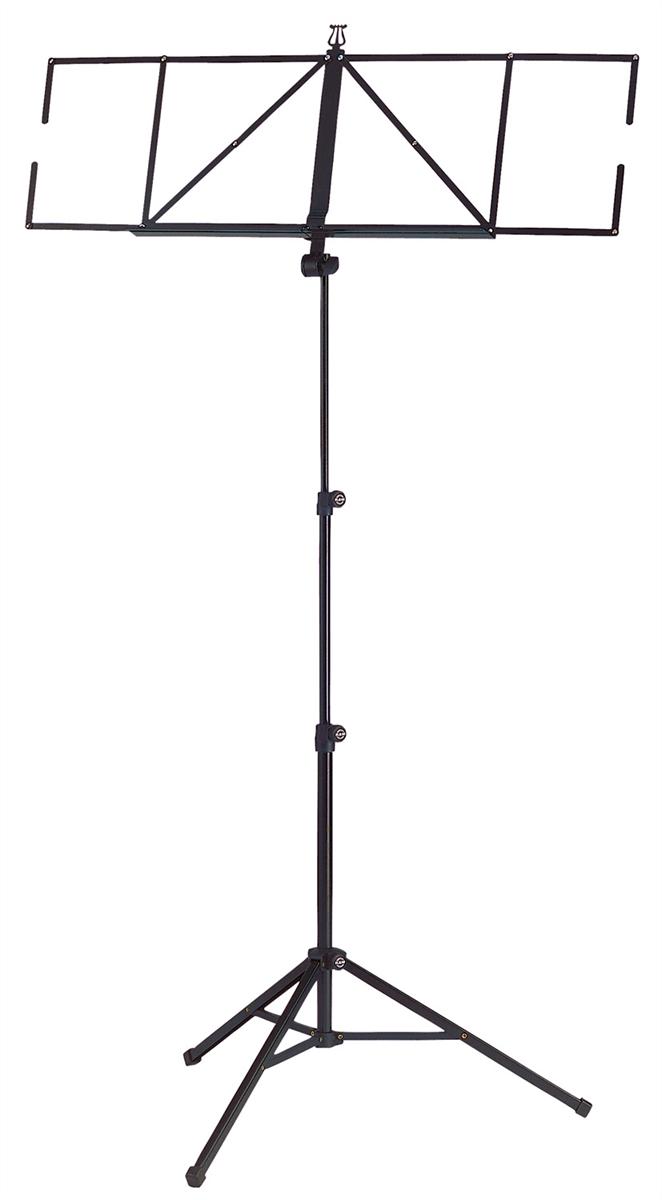 K&M 10062-000-55 'Vouwbaar Blad Model ''Robby Exclusive'' Zwart'