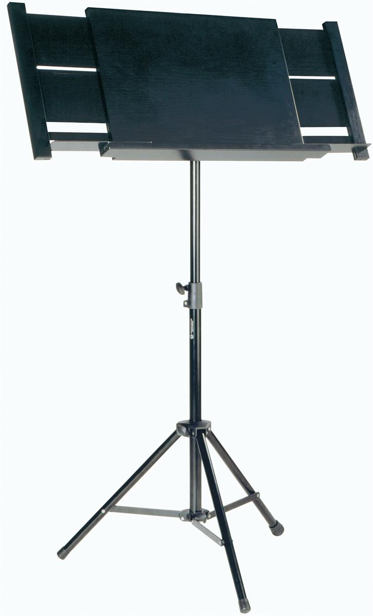 K&M 12342-000-55 Vast Blad Dirigent Zwart Blad 3 poten