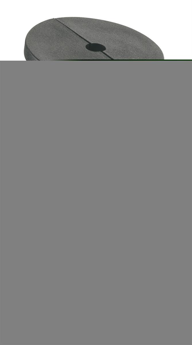 K&M 14301-000-55 Kegelhouder voor 14300/15205 Zwart