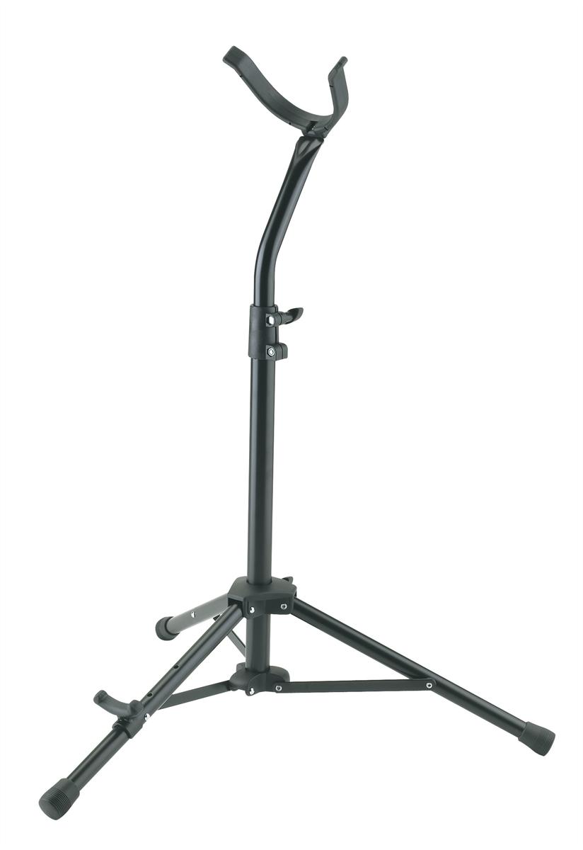 K&M 14410-000-55 Saxofoon Stand voor Bariton Saxofoon Zwart