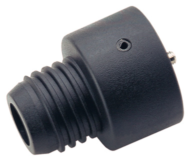 K&M 15281-005-55 Kegel Adapter Universeel Zwart