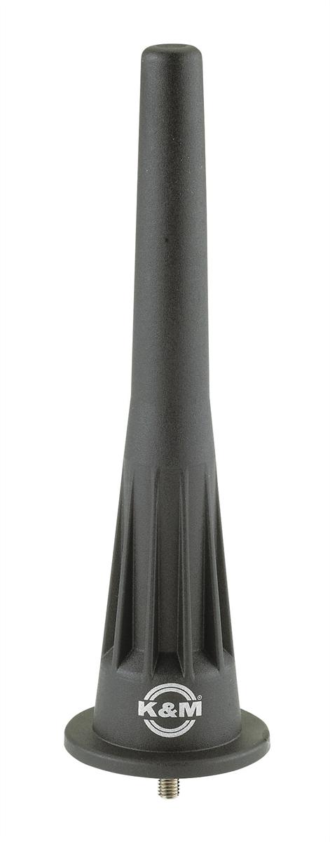 K&M 17738-005-55 Kegel voor Hobo Kunststof Zwart