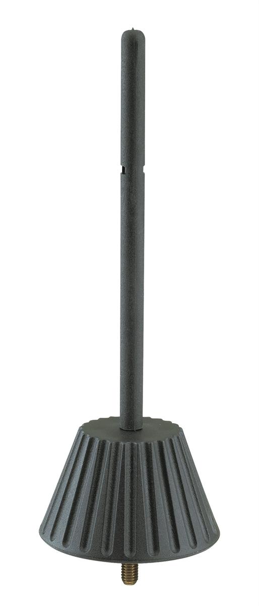 K&M 17782-005-55 Kegel voor Fluit Zwart