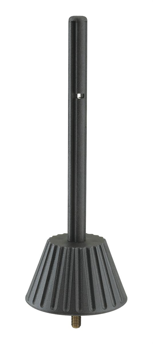 K&M 17786-005-55 Kegel voor Fluit Zwart