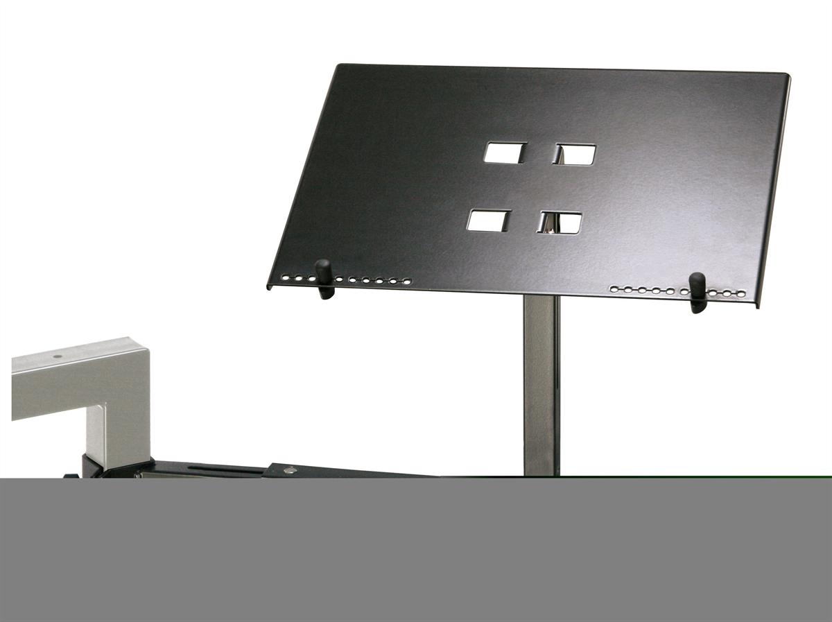 K&M 18815-000-55 Laptop Laptophouder Zwart