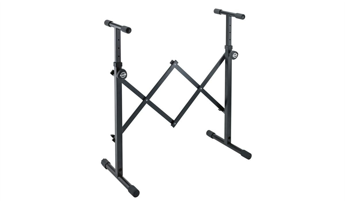 K&M 18825-000-55 Equipment Stand universeel Zwart