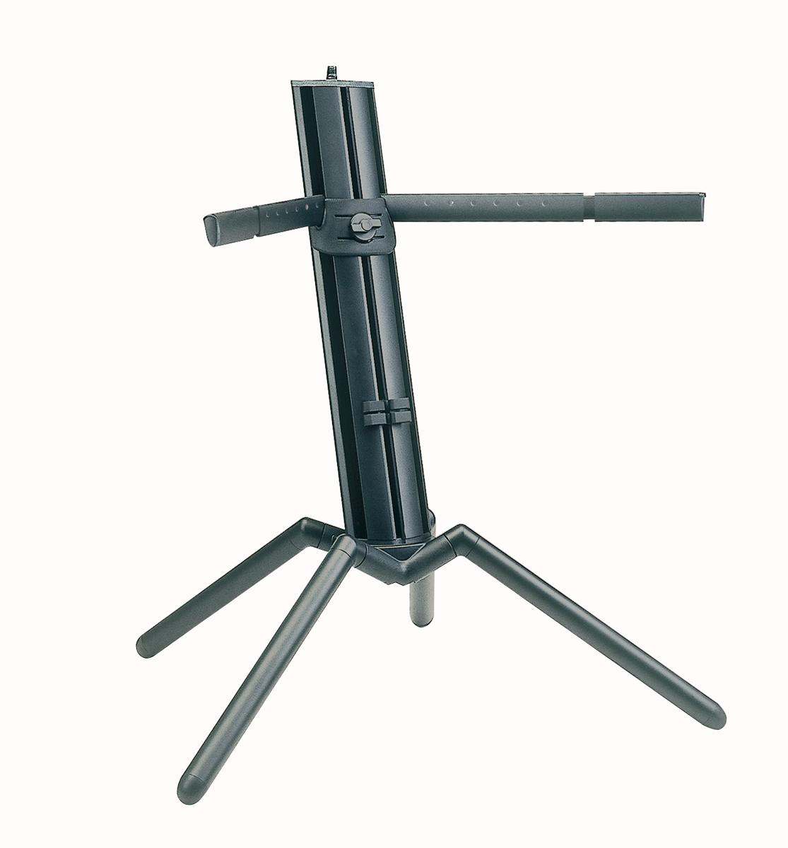 K&M 18840-000-35 Keyboard Stand Baby Spider Pro Alu 18840 Zwart