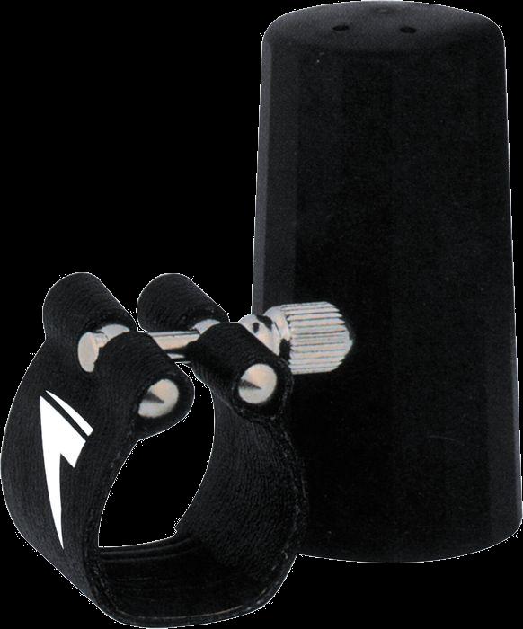 Vandoren Ligatuur + Beschermkap Plastic Saxofoon Alto Flexibel