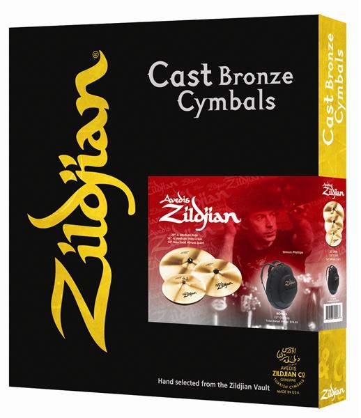 AM4P-2 Zildjian Cymbale A Custom  HH14/CR16/R20 + Free CR14
