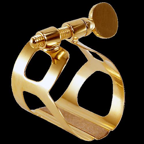 BG France Ligature Saxophone Soprano Tradition Doré L51