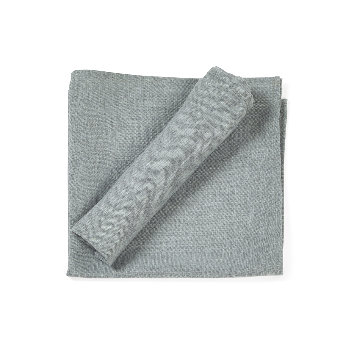 LIBECO - POLYLIN WASHED - BLAUW
