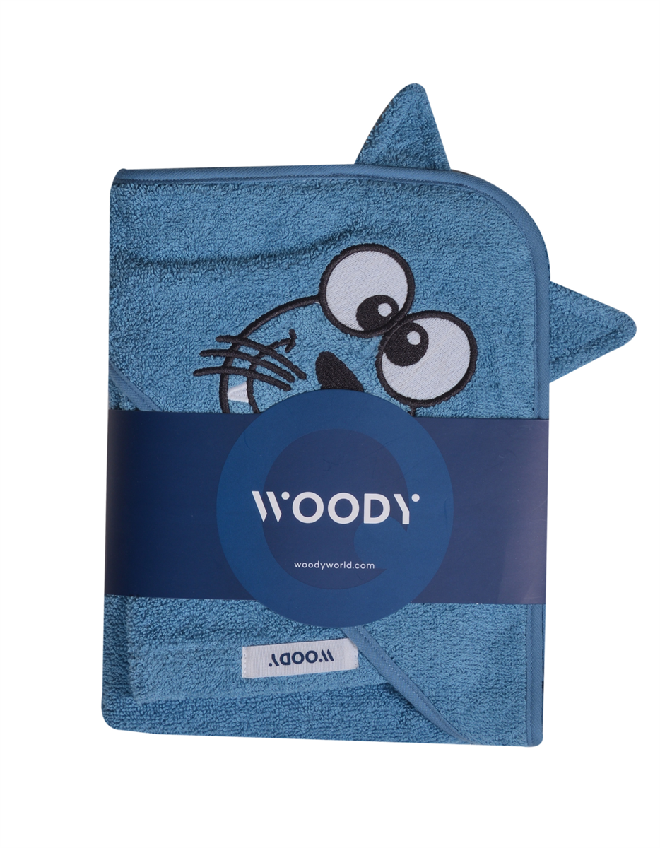 BADKAPJE - WOODY - 202-1-CAP-B/845 - blauw