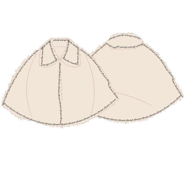 BOVENSTUK - LORDS X LILIES - 202-5-LNO-F/106 - gebroken wit